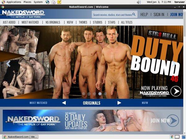 Nakedsword.com Cuentas Gratis