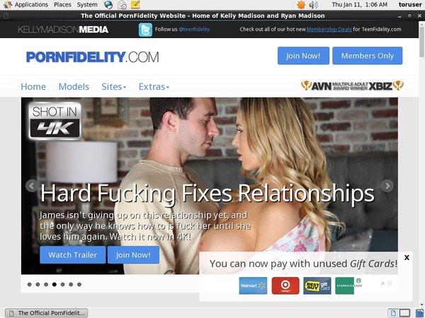 Passwords Pornfidelity.com Free