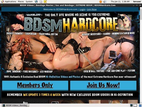 BDSM Hardcore Debit Card