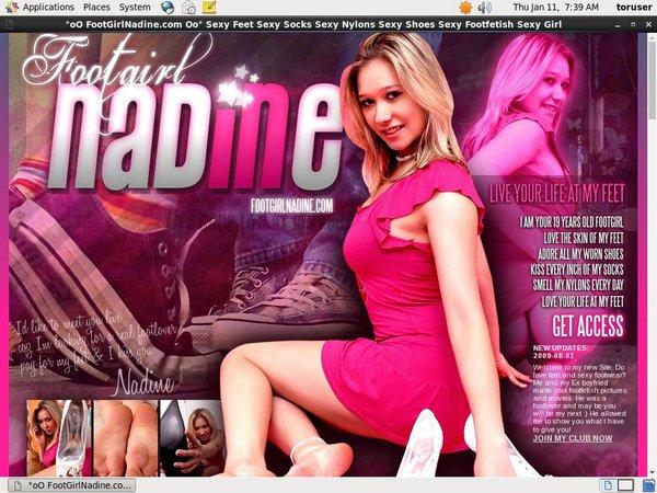 Footgirlnadine.com Ccbill