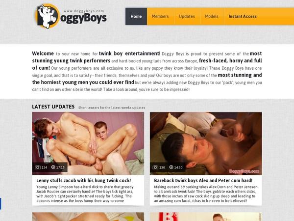 Accounts On Doggyboys